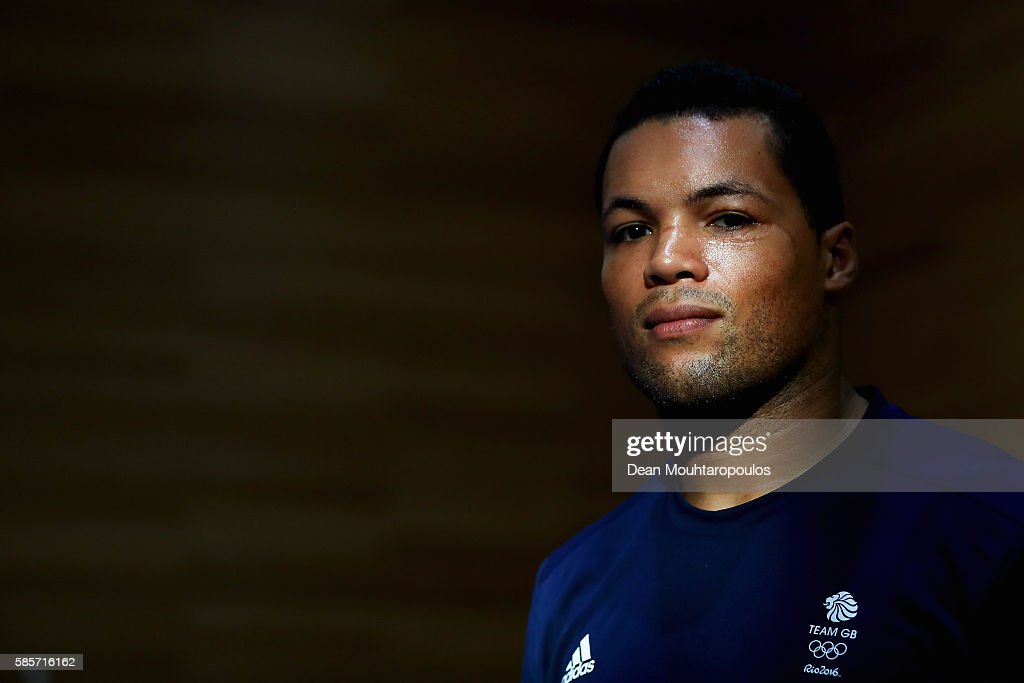 Joe Joyce of Great Britain or Team GB from the Mens Boxing Team poses during the Olympics preview day - 2 at The British School on August 3, 2016 in Rio de Janeiro, Brazil.
