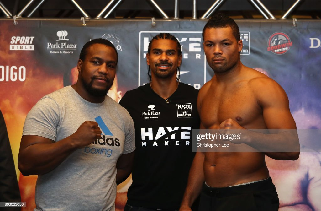 Joe Joyce v Ian Lewison Weigh In