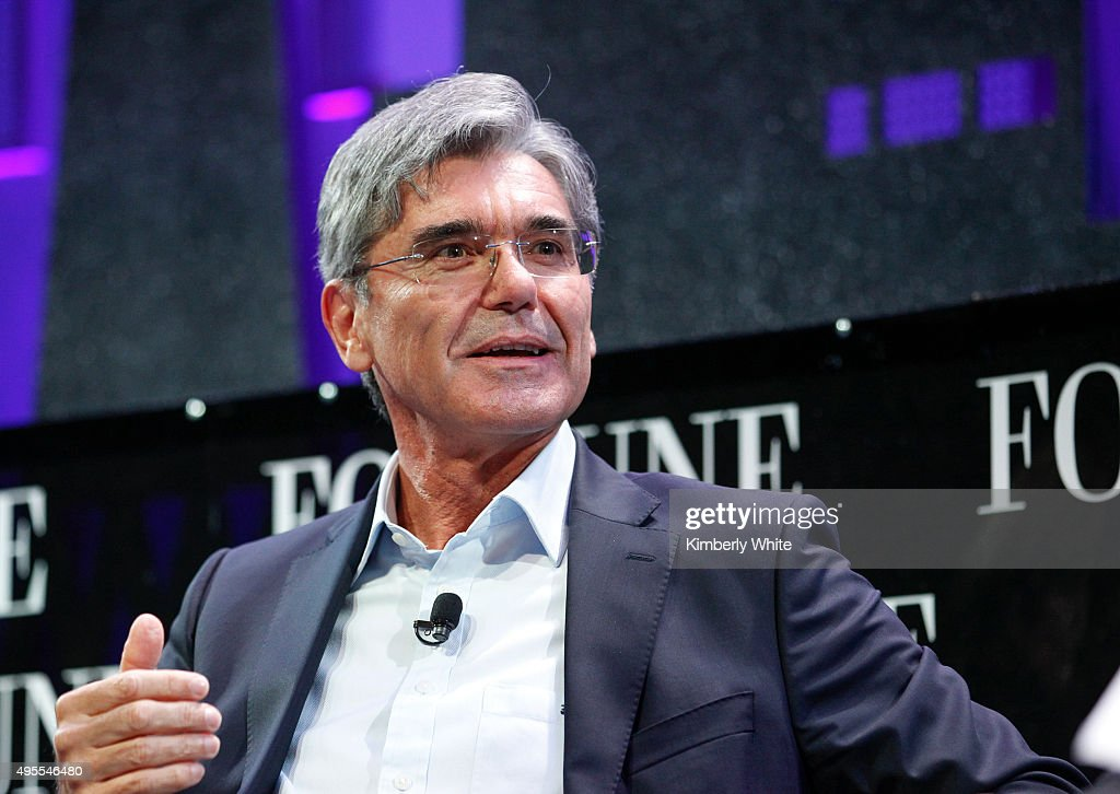 <a gi-track='captionPersonalityLinkClicked' href=/galleries/search?phrase=Joe+Kaeser&family=editorial&specificpeople=558326 ng-click='$event.stopPropagation()'>Joe Kaeser</a> on a panel during the Fortune Global Forum - Day2 at the Fairmont Hotel on November 3, 2015 in San Francisco, California.