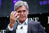 Joe Kaeser on a panel during the Fortune Global Forum Day2 at the Fairmont Hotel on November 3 2015 in San Francisco California