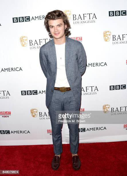 Joe Keery attends the BBC America BAFTA Los Angeles TV Tea Party 2017 at The Beverly Hilton Hotel on September 16 2017 in Beverly Hills California