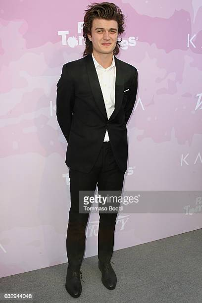 Joe Keery attends the Variety's Celebratory Brunch Event For Awards Nominees Benefitting Motion Picture Television Fund held at Cecconi's on January...