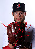 Joe Kelly of the Boston Red Sox poses for a portrait on March 1 2015 at JetBlue Park in Fort Myers Florida