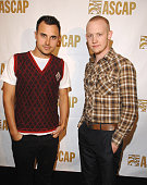 Joe King and Isaac Slade of The Fray during ASCAP Pop Music Awards at Kodak Theater in Los Angeles California United States