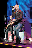 Joe King and Isaac Slade of The Fray perform at the Coral Sky Ampitheatre on June 7 2015 in West Palm Beach Florida