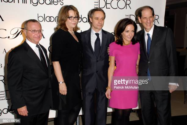 Joe Laneve Barbara Friedmann Philippe Guelton Margaret Russell and Michael Gould attend ELLE DECOR and BLOOMINGDALE'S Celebrate Reopening of...