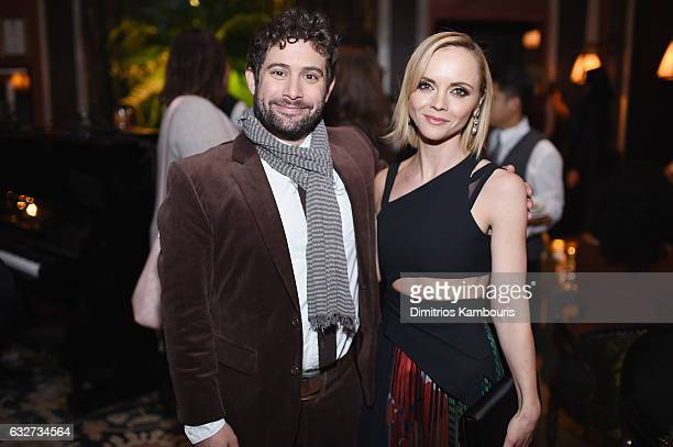 Joe Lewis and Christina Ricci attend the premiere event for Amazon Prime Video's Z THE BEGINNING OF EVERYTHING on January 25 2017 in New York City