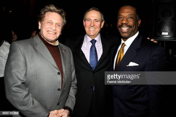 Joe Lewis Walter Anderson and Walter Eddie attend PARADE MAGAZINE and SI Newhouse Jr honor Walter Anderson at The 4 Seasons Grill Room on March 31...