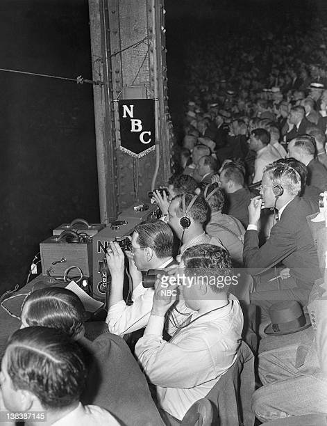 CHAMPIONSHIP '1938 Joe Louis v Max Schmeling' Pictured The crowd watching the LouisSchmeling fight on June 22 1938 at Yankee Stadium in the Bronx NY