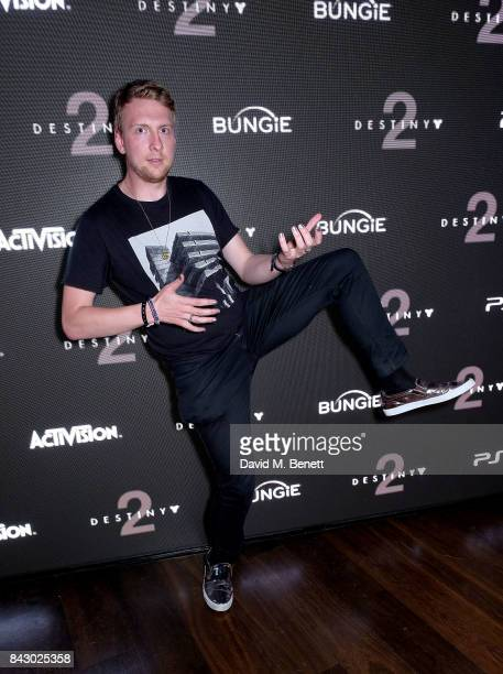 Joe Lycett attends the Destiny 2 launch event on PlayStation 4 Available from Wednesday 6th September 2017 #Destiny2 at Mondrian Hotel on September 5...