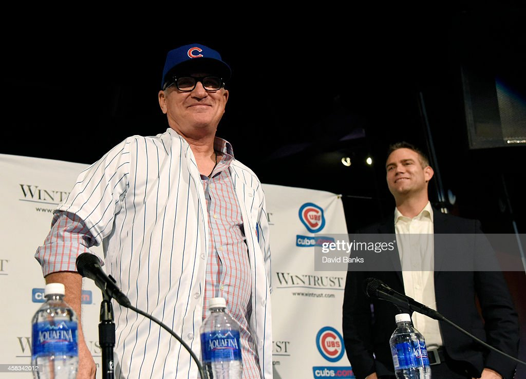 Chicago Cubs Introduce Joe Maddon