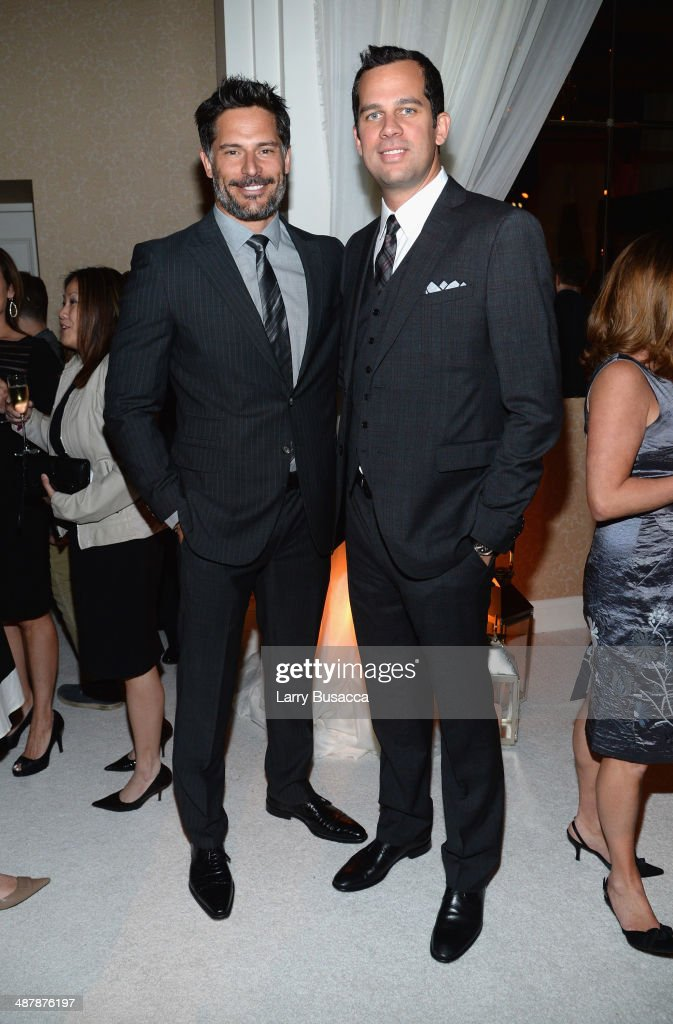 <a gi-track='captionPersonalityLinkClicked' href=/galleries/search?phrase=Joe+Manganiello&family=editorial&specificpeople=2516889 ng-click='$event.stopPropagation()'>Joe Manganiello</a> (L) and Nick Manganiello attend the PEOPLE/TIME WHCD cocktail party at St Regis Hotel - Astor Terrace on May 2, 2014 in Washington, DC.