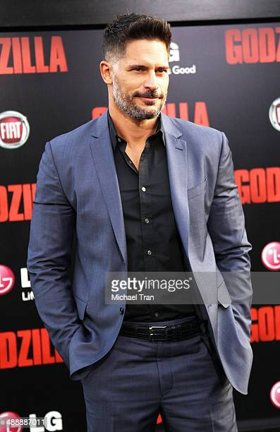 Joe Manganiello arrives at the Los Angeles premiere of 'Godzilla' held at Dolby Theatre on May 8 2014 in Hollywood California
