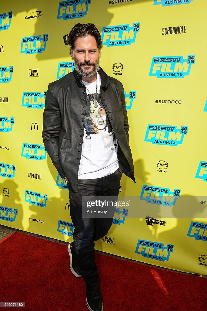 Joe Manganiello attends Netflix presents the world premiere of 'Pee-wee's Big Holiday' at SXSW March 17, 2016 in Austin, Texas.