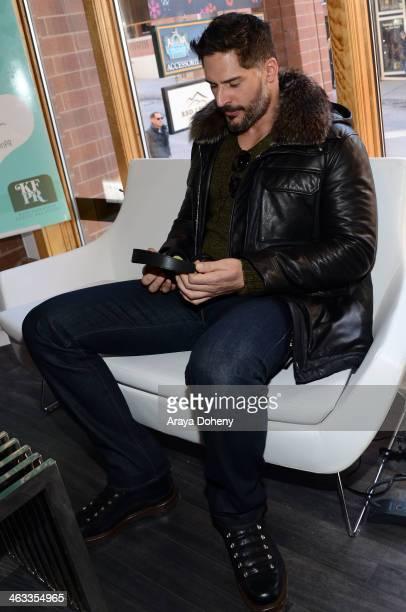 Joe Manganiello attends the Kari Feinstein Style Lounge on January 17 2014 in Park City Utah