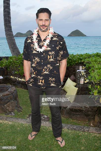 Joe Manganiello attends Virgin America and Airbnb Hawaii Launch Party at Various Locations on November 2 2015 in San Francisco California