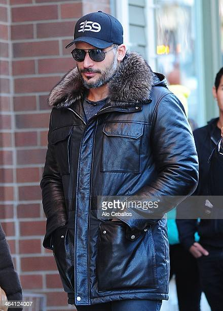 Joe Manganiello is seen at Sundance Festival on January 20 2014 in Park City Utah