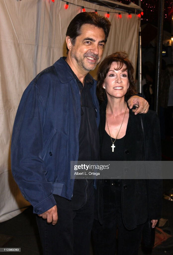 Joe Mantegna and Diane Martin during The Feast of San Gennaro Presented by Precious Cheese - Day 1 at Hollywood Ivar Lot in Hollywood, California, United States.