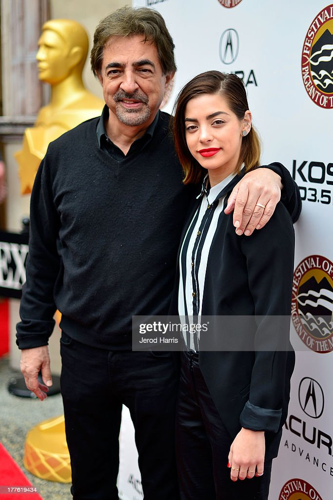 <a gi-track='captionPersonalityLinkClicked' href=/galleries/search?phrase=Joe+Mantegna&family=editorial&specificpeople=207165 ng-click='$event.stopPropagation()'>Joe Mantegna</a> and Gia Mategna attend the Acura/KOST celebrity benefit concert and pageant on August 24, 2013 in Laguna Beach, California.