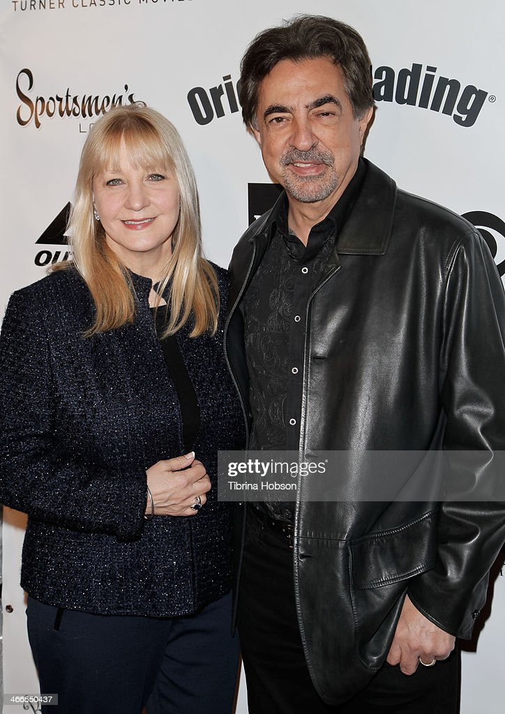 <a gi-track='captionPersonalityLinkClicked' href=/galleries/search?phrase=Joe+Mantegna&family=editorial&specificpeople=207165 ng-click='$event.stopPropagation()'>Joe Mantegna</a> and his wife Arlene Vrhel (L) attend the 2nd annual Borgnine movie star gala honoring actor <a gi-track='captionPersonalityLinkClicked' href=/galleries/search?phrase=Joe+Mantegna&family=editorial&specificpeople=207165 ng-click='$event.stopPropagation()'>Joe Mantegna</a> at Sportman's Lodge on February 1, 2014 in Studio City, California.