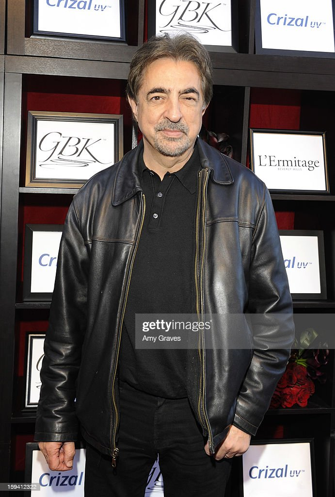 <a gi-track='captionPersonalityLinkClicked' href=/galleries/search?phrase=Joe+Mantegna&family=editorial&specificpeople=207165 ng-click='$event.stopPropagation()'>Joe Mantegna</a> attends GBK's Luxury Lounge During Golden Globe Weekend Day 2 at L'Ermitage Beverly Hills Hotel on January 12, 2013 in Beverly Hills, California.