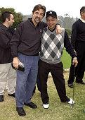Joe Mantegna Cheech Marin during 4th Annual Elizabeth Glaser Pediatric AIDS Foundation Celebrity Golf Classic Sponsored By Mossimo MercedesBenz at...