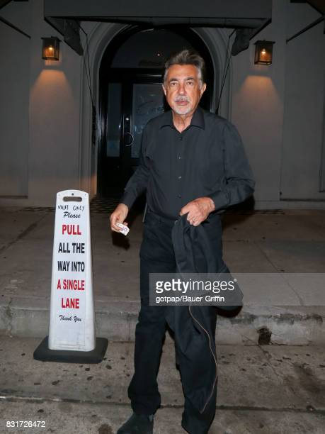 Joe Mantegna is seen on August 14 2017 in Los Angeles California