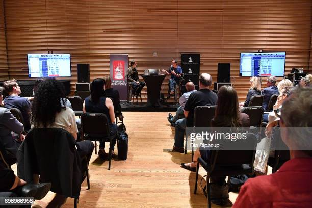 Joe Mardin and Kevin Killen attend the GRAMMY Pro Art of the Craft The Listening Sessions at The DiMenna Center on June 20 2017 in New York City