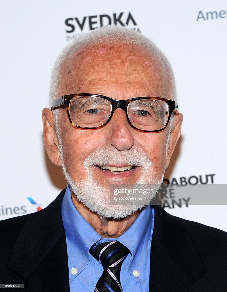 Joe Masteroff attends the 2013 Roundabout Theatre Company Spring Gala at Hammerstein Ballroom on March 11, 2013 in New York City.
