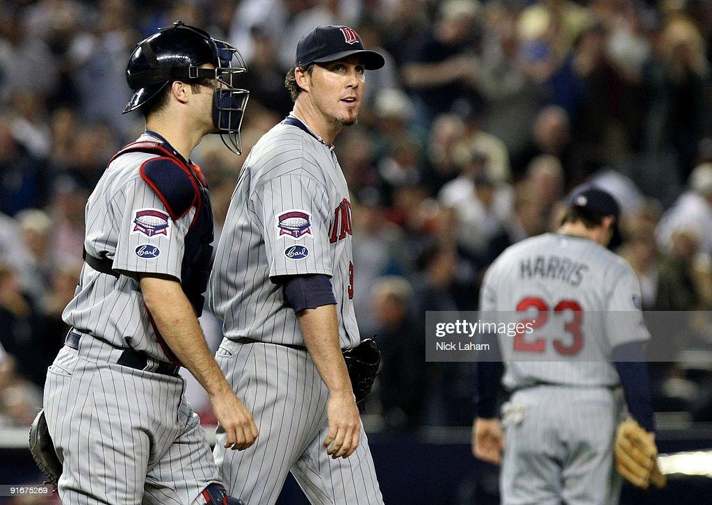 Minnesota Twins v New York Yankees, Game 2
