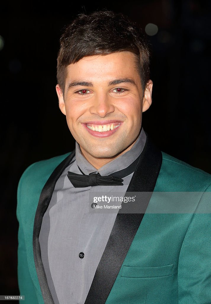 Joe McElderry attends the Sun Military Awards at Imperial War Museum on December 6, 2012 in London, England.