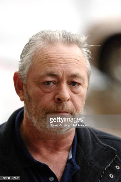 Joe McGregor father of L/C Derek McGregor who died at Catterick leaves a meeting to call for fair play on inquest funding over MoD's refusal to...
