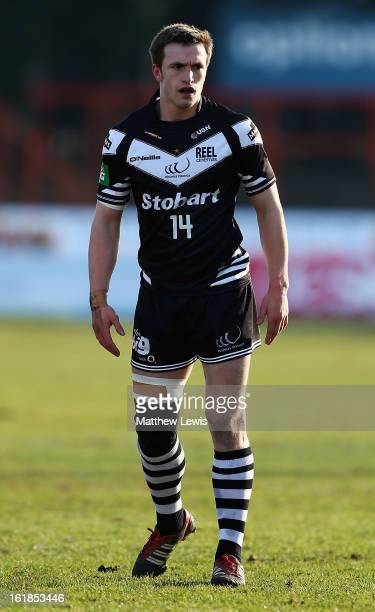 Joe Mellor of Widnes Warriors in action during the Super League match between Hull KR and Widnes Vikings at Craven Park Stadium on February 17 2013...