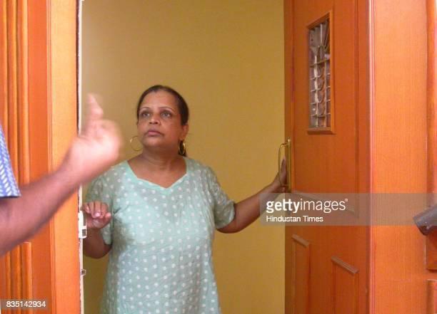 Joe Menezes Murder Case Aura D'Souza at her flat in Takshila