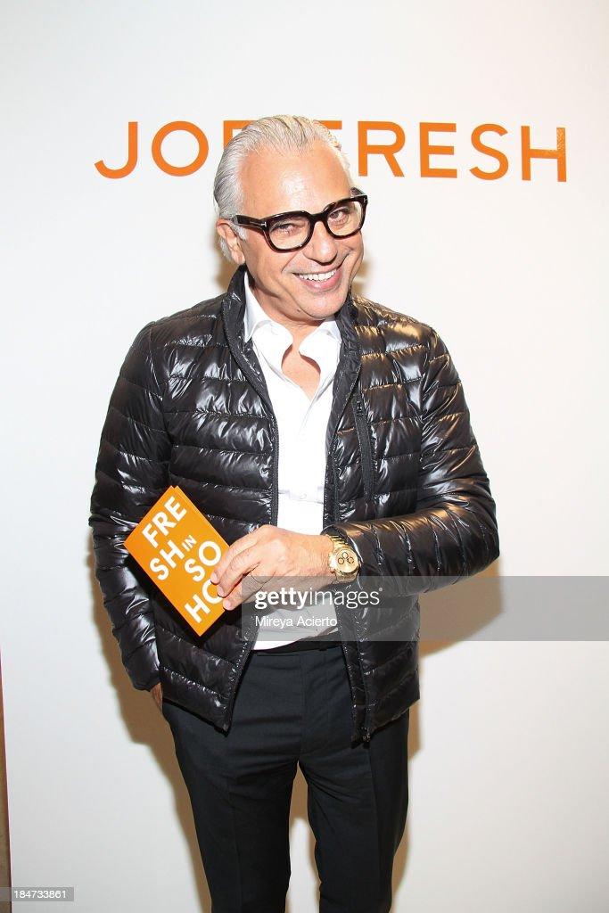 Joe Mimran attends the Joe Fresh Soho opening party at Joe Fresh Soho on October 15 2013 in New York City