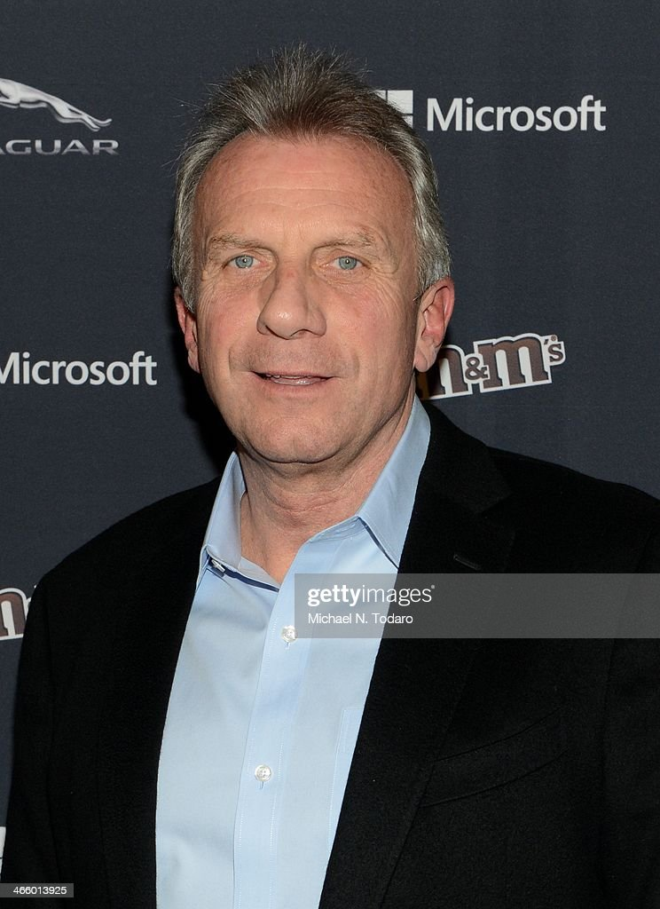 Joe Montana attends the Sports Illustrated MVP Night With Lynn Swann And Jaguar At The Diageo Liquid Cellar on January 30, 2014 in New York City.