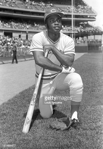 Joe Morgan of the Cincinnati Reds poses for a photo before a National League game at Shea Stadium in the Queens borough of Manhattan Joe Morgan...