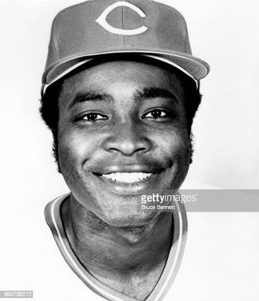 Joe Morgan of the Cincinnati Reds poses for a portrait during Spring Training circa March 1975 in Tampa Florida