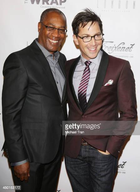 Joe Morton and Dan Bucatinsky arrive at TheWrap's First Annual Emmy Party held at The London West Hollywood on June 5 2014 in West Hollywood...