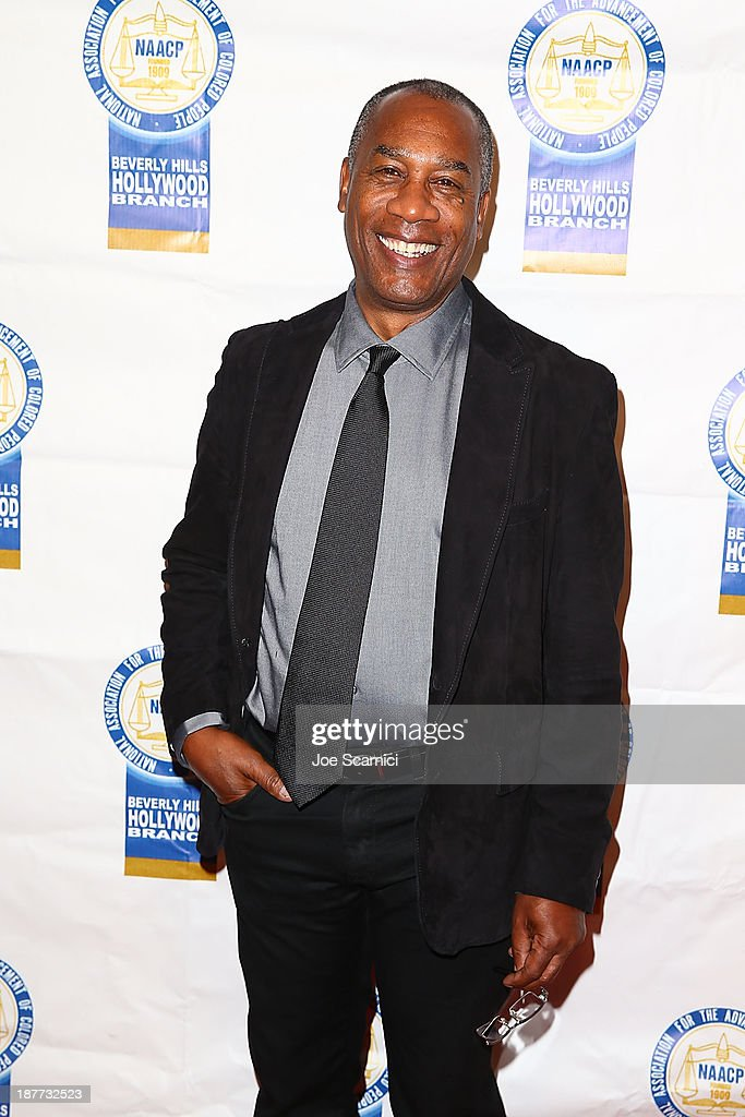 Joe Morton arrives at the 23rd annual NAACP Theatre Awards at Saban Theatre on November 11, 2013 in Beverly Hills, California.
