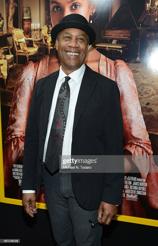 <a gi-track='captionPersonalityLinkClicked' href=/galleries/search?phrase=Joe+Morton&family=editorial&specificpeople=243160 ng-click='$event.stopPropagation()'>Joe Morton</a> attends the 'Belle' premiere at The Paris Theatre on April 28, 2014 in New York City.
