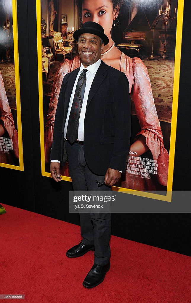 Joe Morton attends the 'Belle' premiere at The Paris Theatre on April 28, 2014 in New York City.