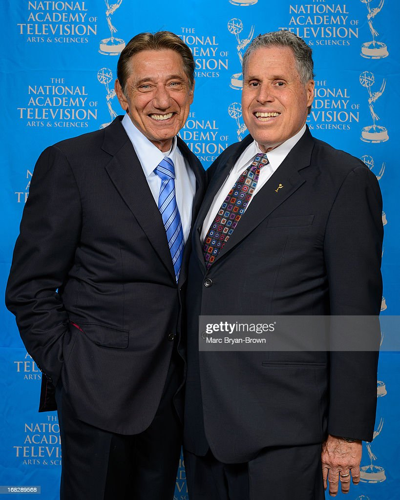 <a gi-track='captionPersonalityLinkClicked' href=/galleries/search?phrase=Joe+Namath&family=editorial&specificpeople=91230 ng-click='$event.stopPropagation()'>Joe Namath</a> and Malachy Wienges attend the 34th Annual Sports Emmy Awards at Frederick P. Rose Hall, Jazz at Lincoln Center on May 7, 2013 in New York City.