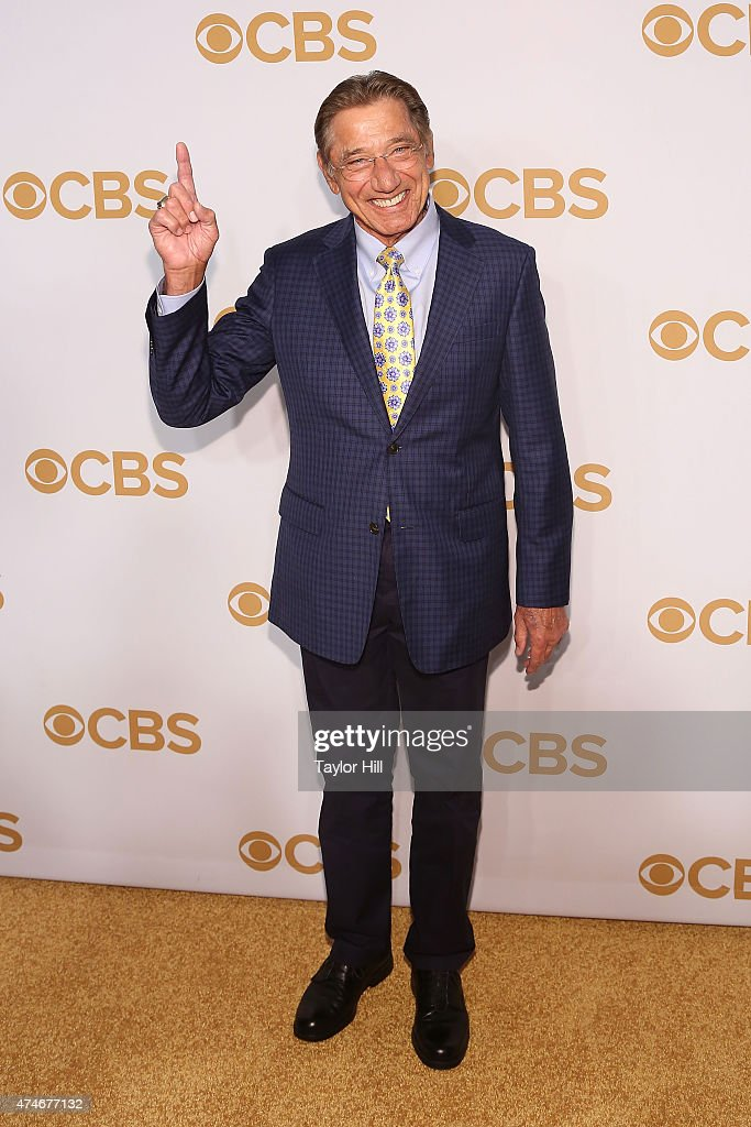 <a gi-track='captionPersonalityLinkClicked' href=/galleries/search?phrase=Joe+Namath&family=editorial&specificpeople=91230 ng-click='$event.stopPropagation()'>Joe Namath</a> attends the 2015 CBS Upfront at The Tent at Lincoln Center on May 13, 2015 in New York City.