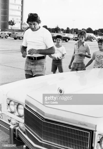 Joe Namath sighted on August 5 1975 at Hofstra University in Hempstead New York