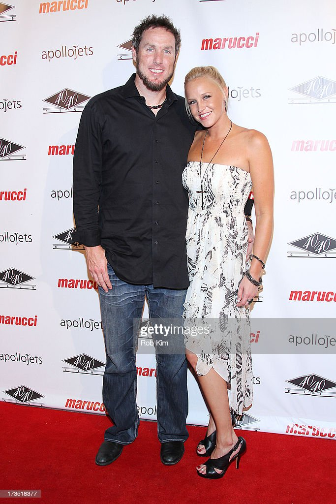 <a gi-track='captionPersonalityLinkClicked' href=/galleries/search?phrase=Joe+Nathan&family=editorial&specificpeople=215405 ng-click='$event.stopPropagation()'>Joe Nathan</a> of Texas Rangers attends the Marucci Sports 4th Annual All-Star State Of Mind Celebration at 40 / 40 Club on July 15, 2013 in New York City.