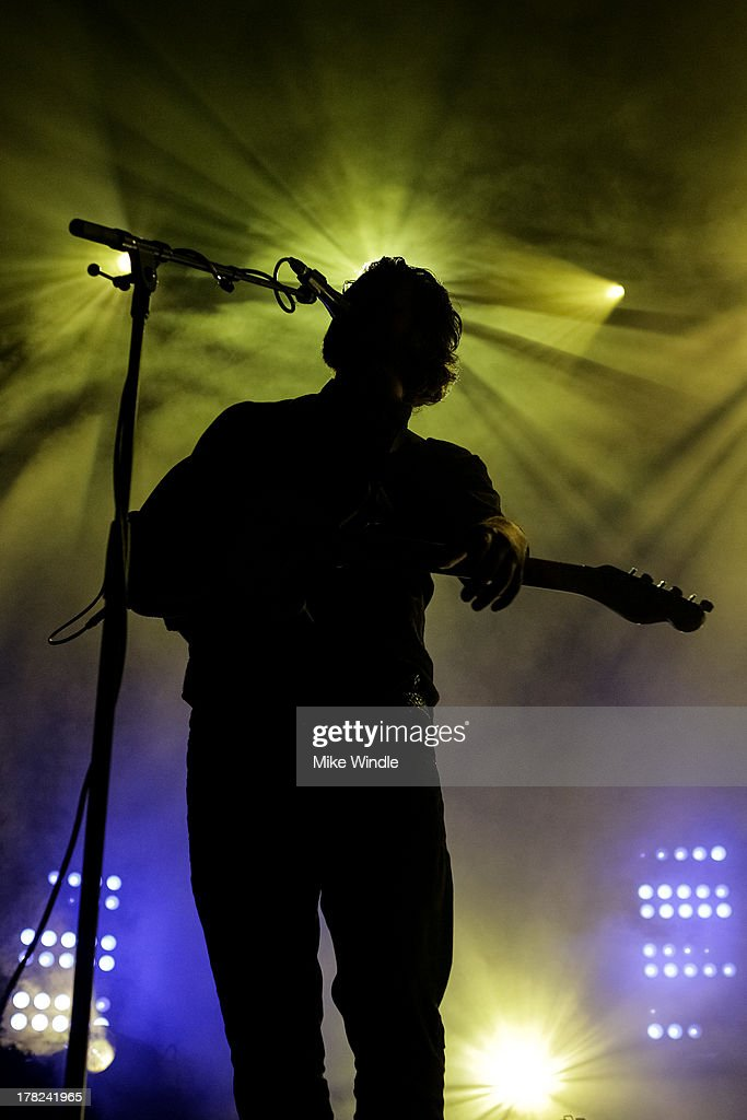 <a gi-track='captionPersonalityLinkClicked' href=/galleries/search?phrase=Joe+Newman+-+Musician&family=editorial&specificpeople=14328483 ng-click='$event.stopPropagation()'>Joe Newman</a> of the band Alt-J performs onstage at The Hollywood Palladium on August 27, 2013 in Los Angeles, California.
