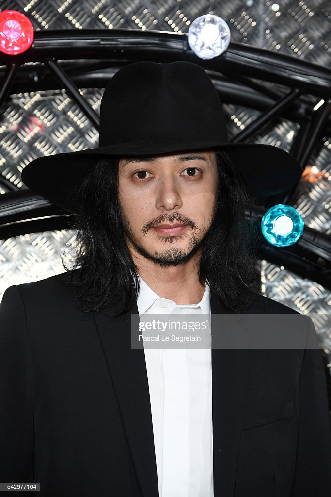Joe Odagiri attends the Dior Homme Menswear Spring/Summer 2017 show as part of Paris Fashion Week on June 25, 2016 in Paris, France.