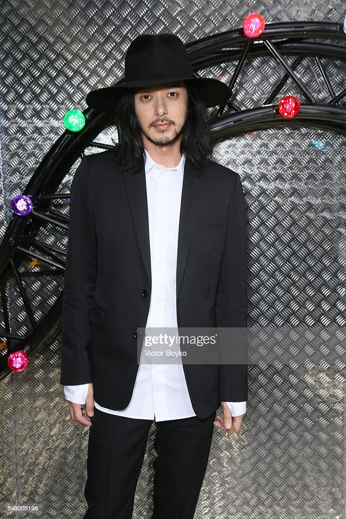 Joe Odagiri attends the Dior Homme Menswear Spring/Summer 2017 show as part of Paris Fashion Week on June 25, 2016 in Paris, France. (Photo by Victor Boyko/Getty Images