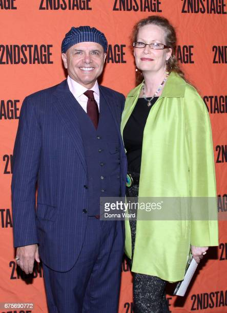 Joe Pantoliano and Nancy Pantoliano attend The Second Stage 38th Anniversary Gala at TAO Downtown on May 1 2017 in New York City